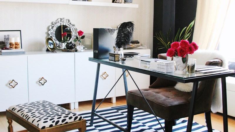 Desk Inspiration from Splendor Styling