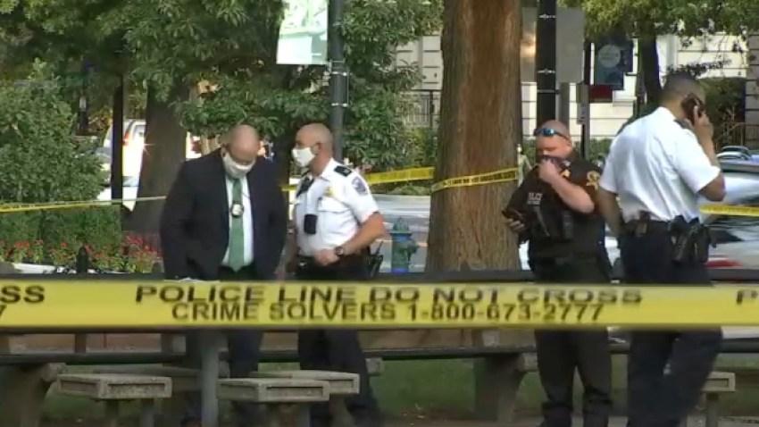 Aftermath of Dupont Circle shooting