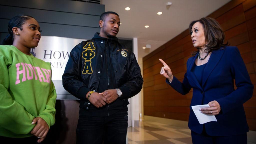 Howard University Hails Selection Of Kamala Harris For Vp Candidate Nbc4 Washington