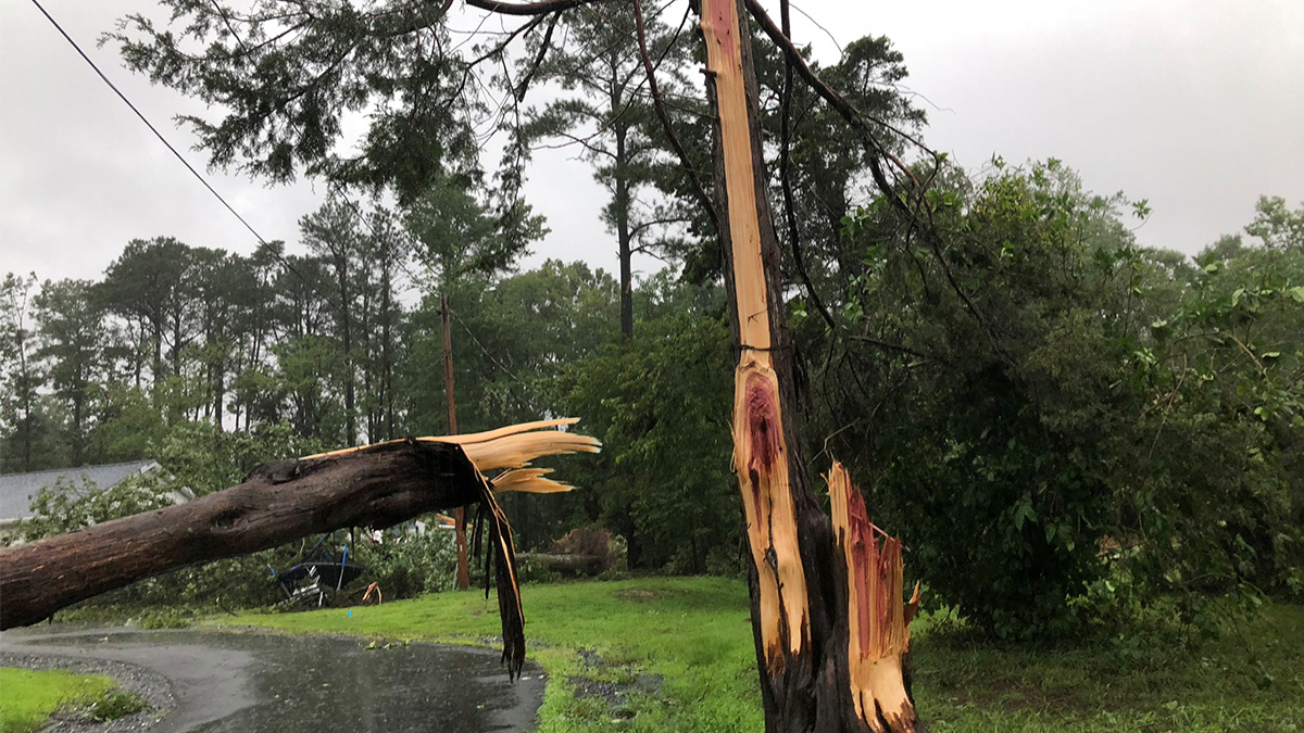 Photos and Videos: Tropical Storm Isaias Unleashes Damage on DC, Maryland and Virginia