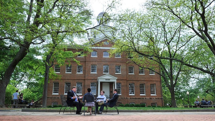 St. John's College campus in Annapolis, Maryland