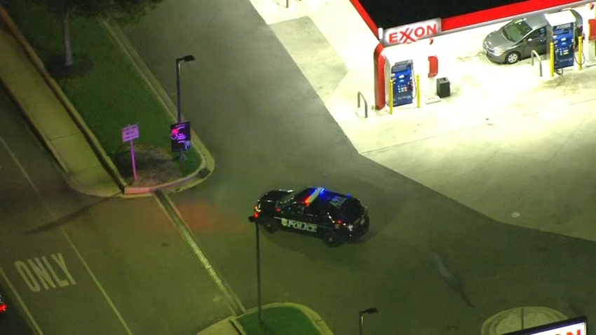 An Amber Alert was issued after a car with two young boys inside was stolen from a gas station in Anne Arundel County.