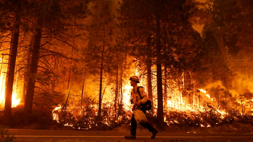 Hiker Dies as Record Heat Wave, Wildfires Scorch California