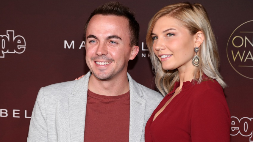 "In this Oct. 4, 2017, file photo, Frankie Muniz and Paige Price attend People's ""Ones To Watch"" at NeueHouse Hollywood in Los Angeles, California."