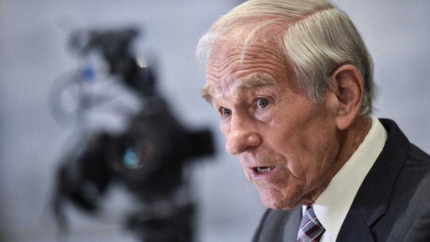 NEW YORK, NY - MAY 13: Texas Congressman Ron Paul attends Consensus 2019 at the Hilton Midtown on May 13, 2019 in New York City.