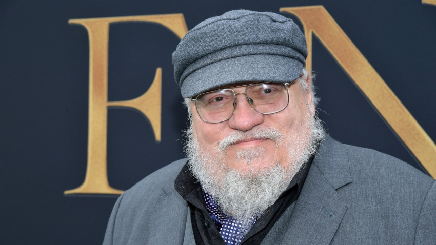 "WESTWOOD, CALIFORNIA - MAY 08: George R. R. Martin attends the LA Special Screening of Fox Searchlight Pictures' ""Tolkien"" at Regency Village Theatre on May 08, 2019 in Westwood, California."