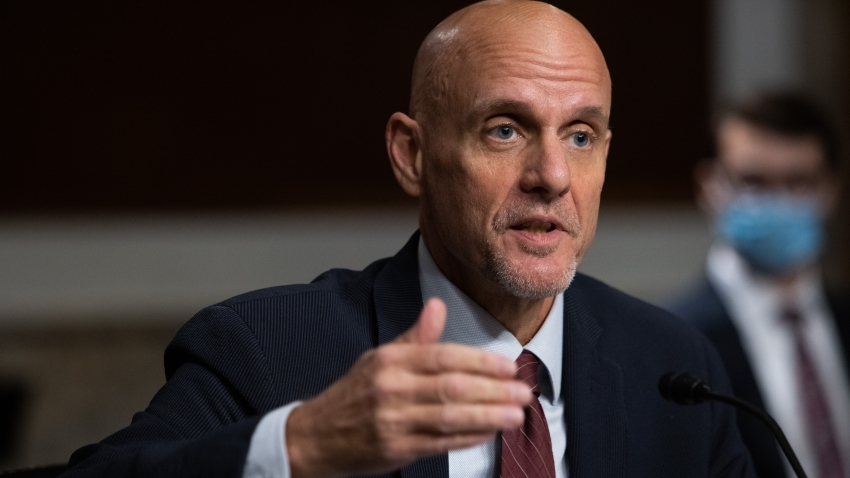 Stephen Hahn, commissioner of food and drugs at the U.S. Food and Drug Administration (FDA), speaks during a Senate Health Education Labor and Pensions Committee hearing in Washington, D.C., U.S., on Wednesday, Sept. 23, 2020. The U.S. death toll from the novel coronavirus exceeded200,000 yesterday, a grim milestone that comeseight monthsafter the pathogen was first confirmed on American soil.
