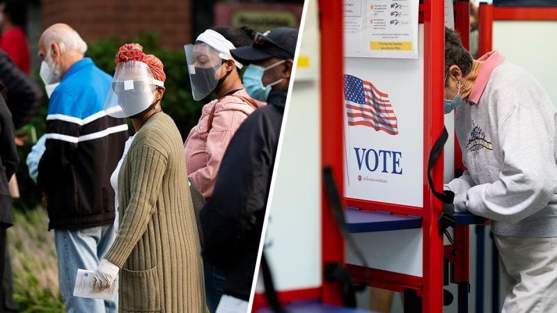 Photos: Virginians Head to the Polls for Early Voting