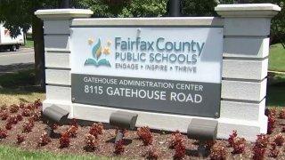 Fairfax County Public Schools sign