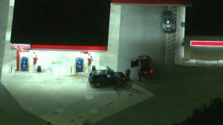 Chopper4 over gas station