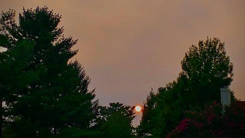 Photos: Wildfire Smoke Spreads Across DC Area