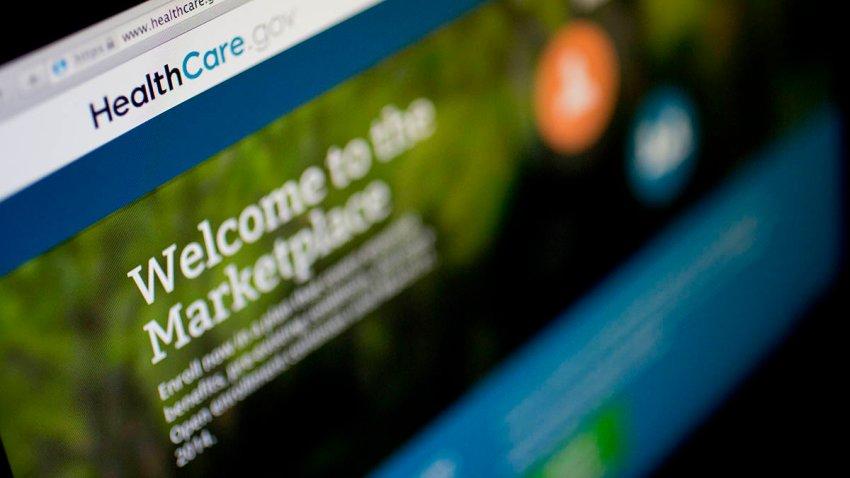 The Healthcare.gov website is displayed on a laptop computer in Washington, D.C., Nov. 4, 2013.