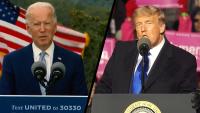 Trump, Biden Hit Campaign Trail as Election Nears