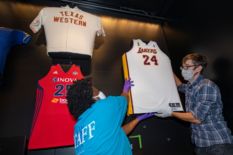 Photos: Kobe Bryant's Lakers Jersey at Smithsonian's NMAAHC