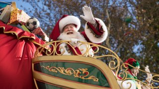 File photo of Santa Claud at the 91st annual Macy's Thanksgiving Day Parade