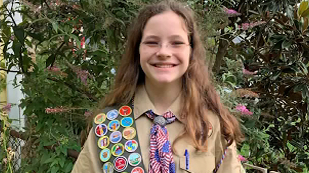 Virginia Girl to Make History as One of First Female Eagle Scouts