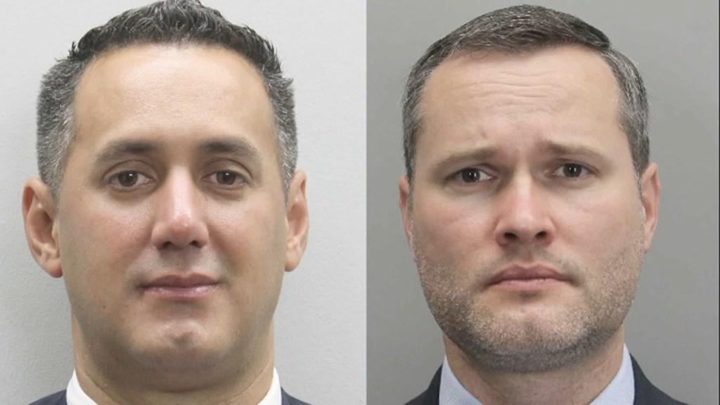 Officers Alejandro Amaya and Lucas Vinyard