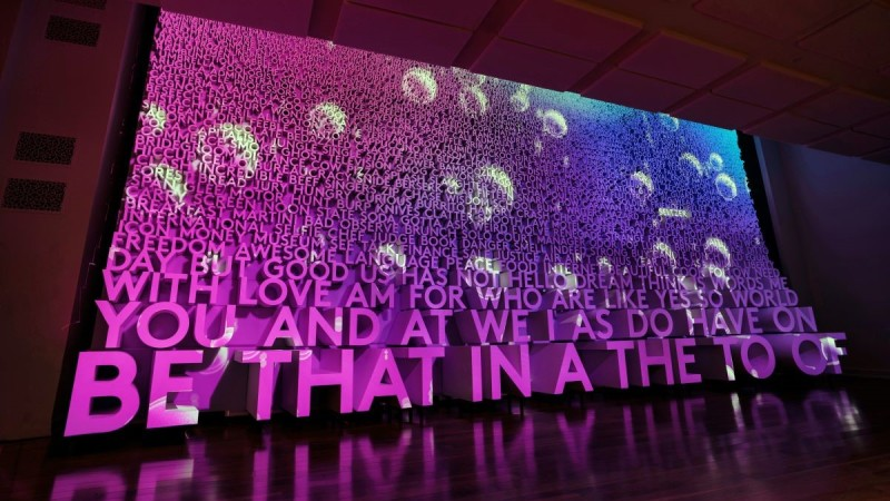Photos: Inside DC's New Museum Devoted to Words, Language