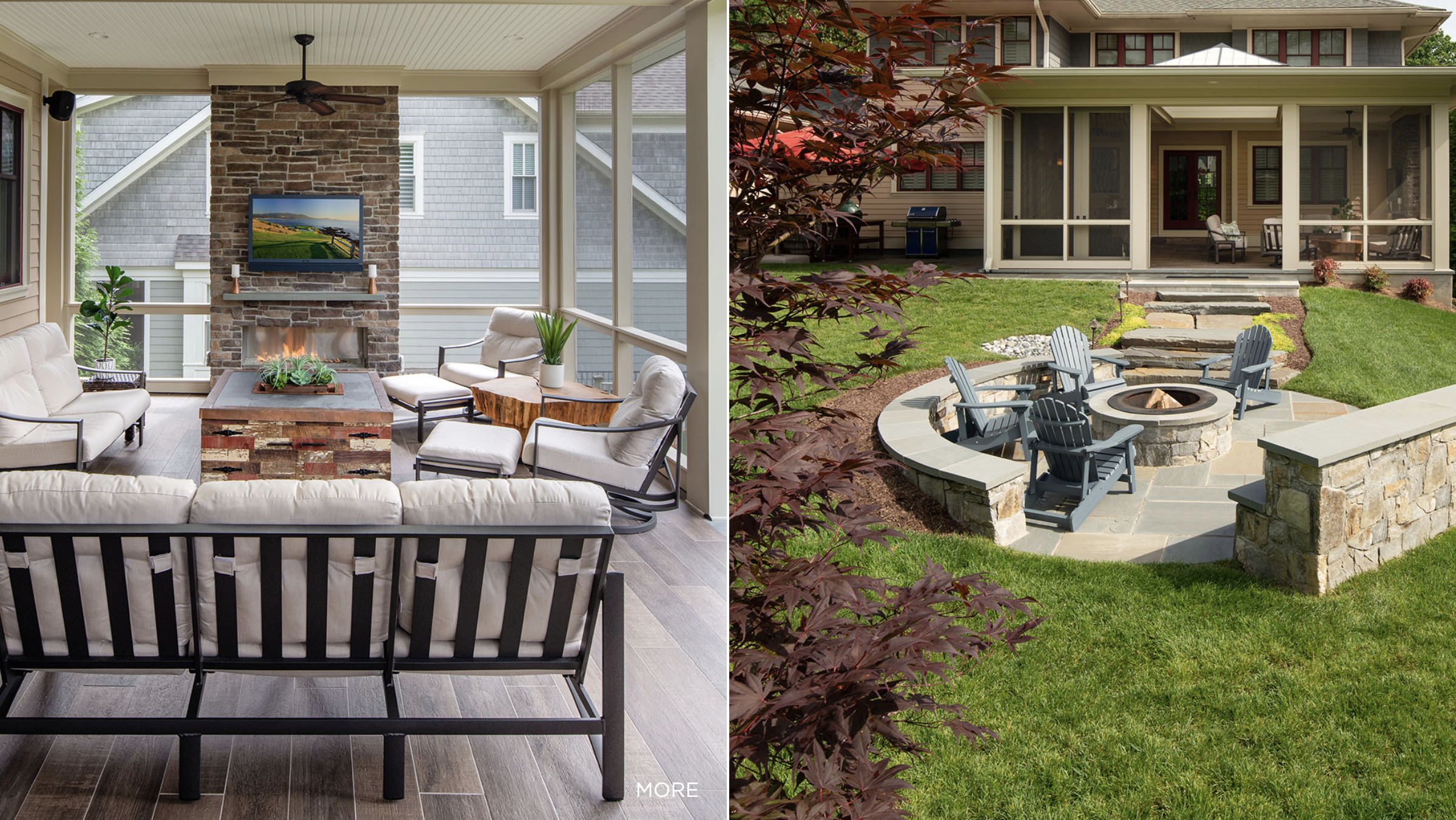 Time to Get Cozy: Making the Most of Your Outdoor Space in Cooler Weather