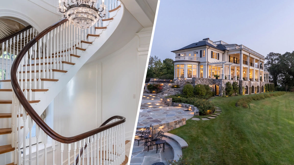Estate at George Washington's Mount Vernon Lists at Groundbreaking $60 Million