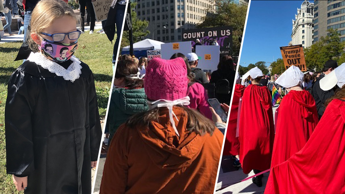 'Everything Is on the Line': Crowds Parade Through DC for Women's March