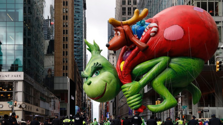 NBC Bringing 'The Grinch' to Life in New Musical Holiday Special