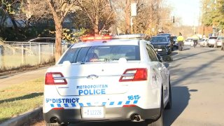 A man was shot in the head at a construction site in Southeast D.C.