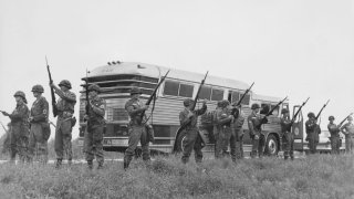 freedom riders bus 1961