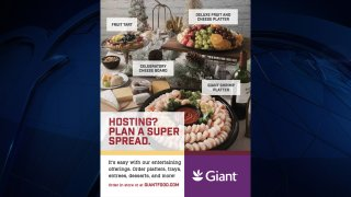 The advertisement in the December issue of Giant's magazine, Savory.