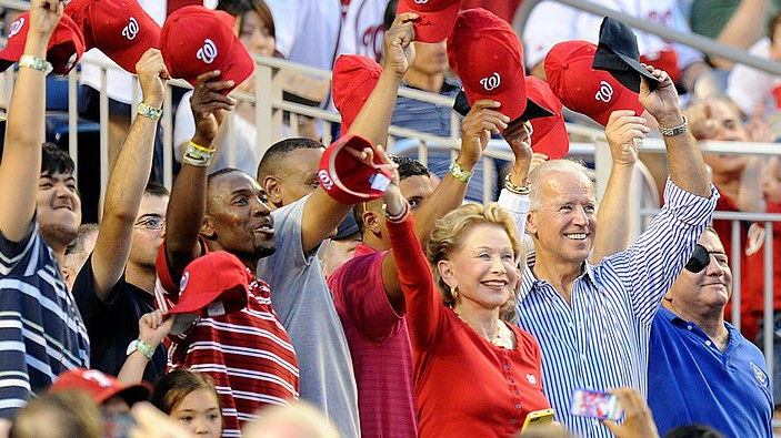 joe biden washington nationals