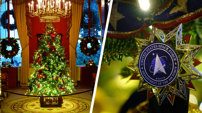 Photos: White House Reveals Christmas Decorations