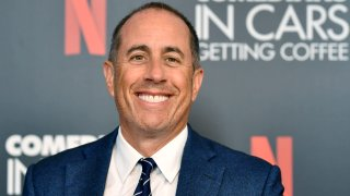 In this July 17, 2019, file photo, Jerry Seinfeld attends the LA Tastemaker event for Comedians in Cars at The Paley Center for Media in Beverly Hills City.