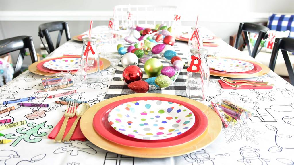 ornaments on the table