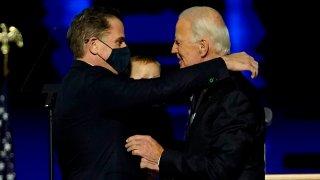 President-Elect Joe Biden Embraces Hunger Biden