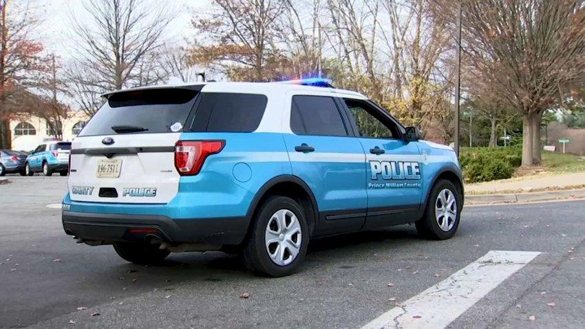 A Prince William County Police SUV