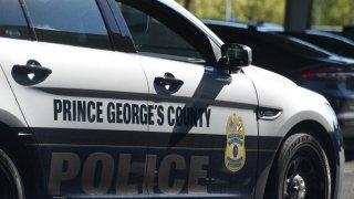 prince george's police car