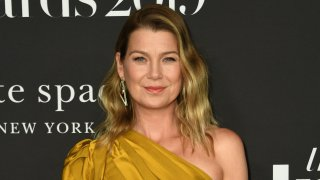 """Ellen Pompeo on the red carpet for the """"InStyle Awards"""" at the Getty Center in Los Angeles."""