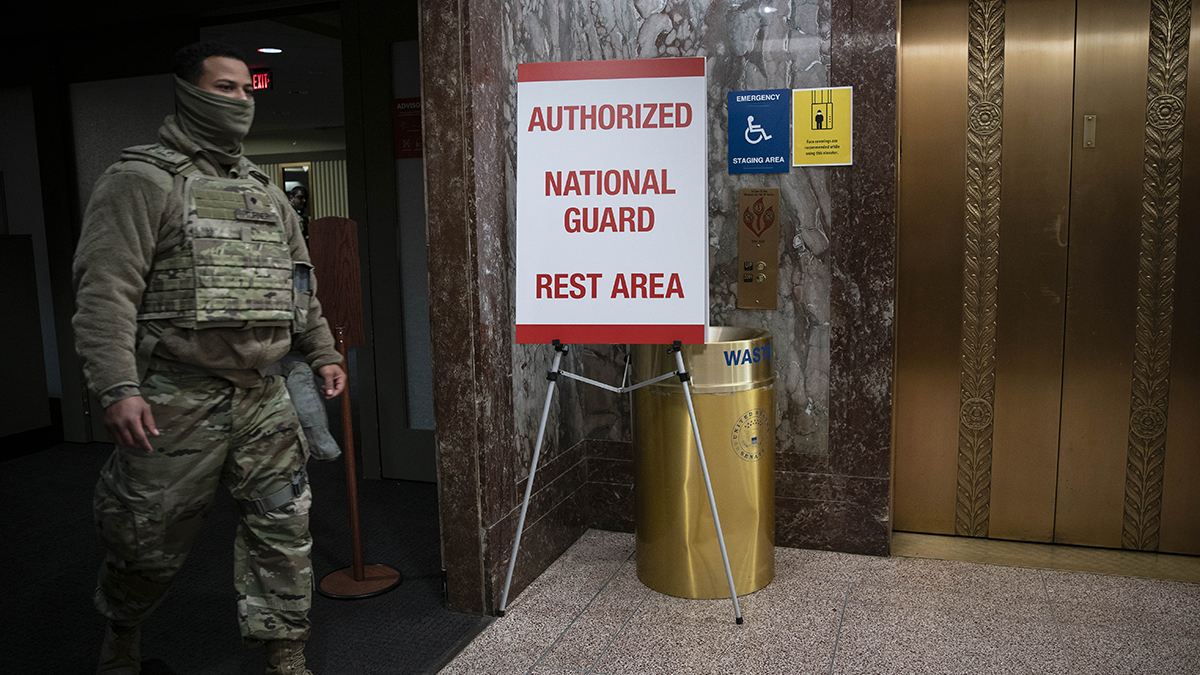 Guard in DC Forced to Sleep in Garages, Sparking Outcry – NBC4 Washington