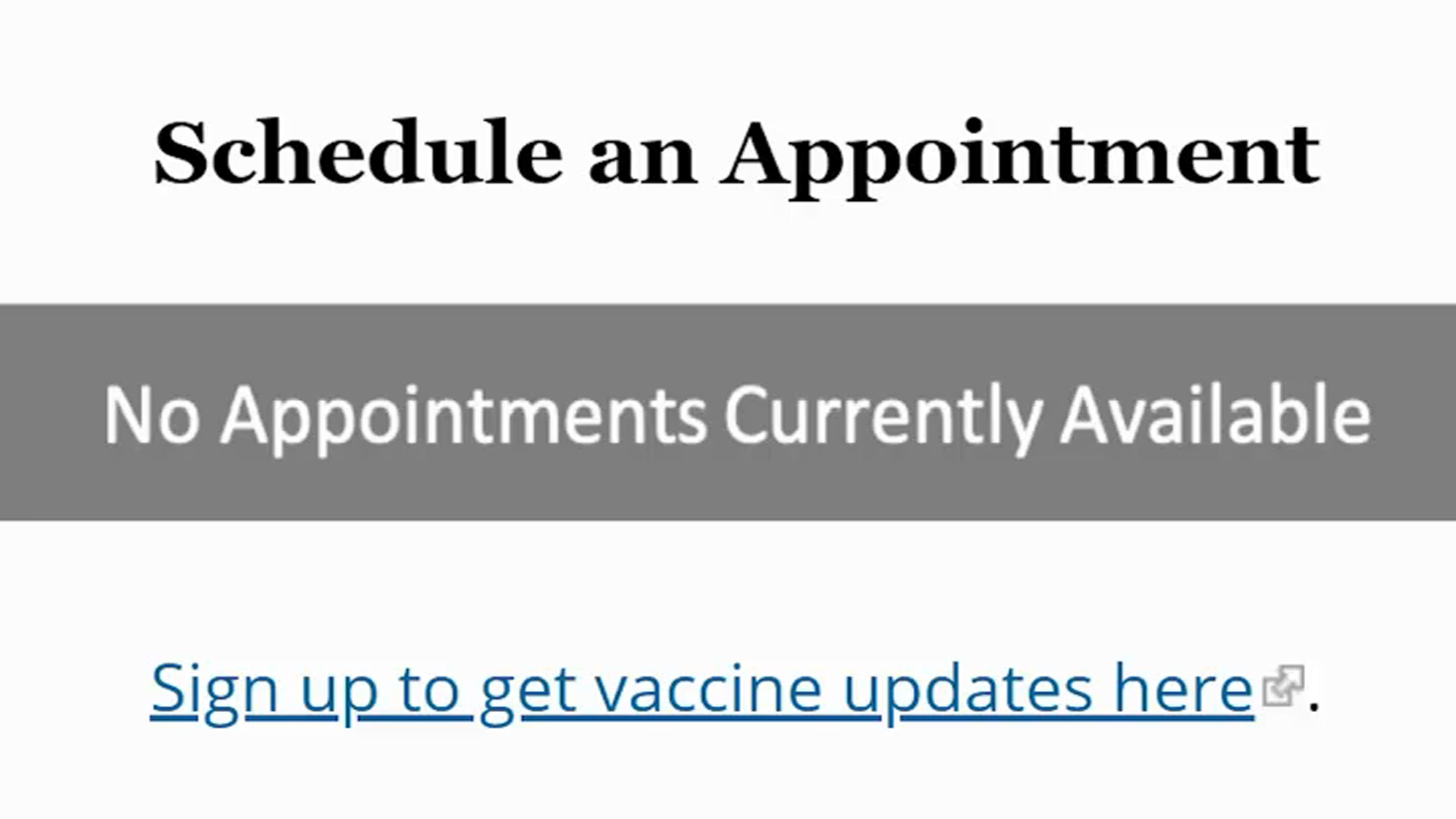 DC Addresses Apparent Disparity in Vaccine Availability