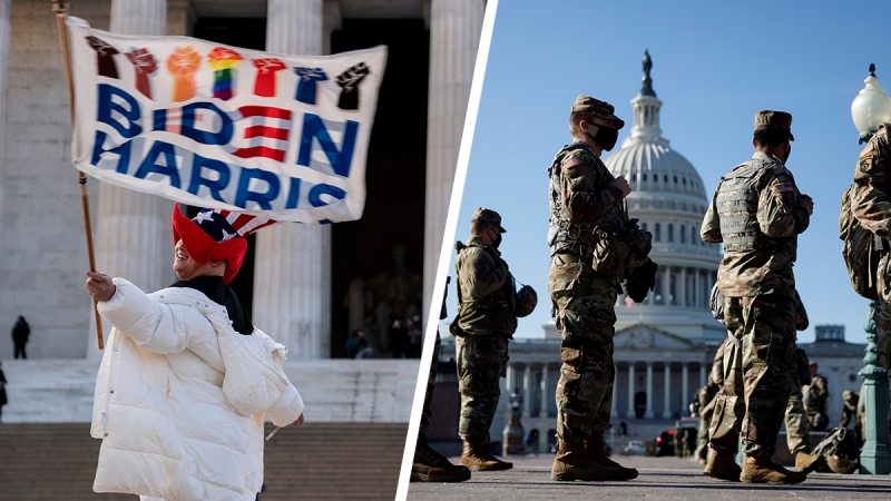 Photos: Tensions Run High as DC Increases Security Ahead of the Inauguration
