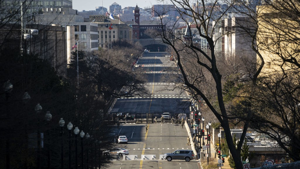 DC Inauguration Updates: Guard Troops Pour Into District