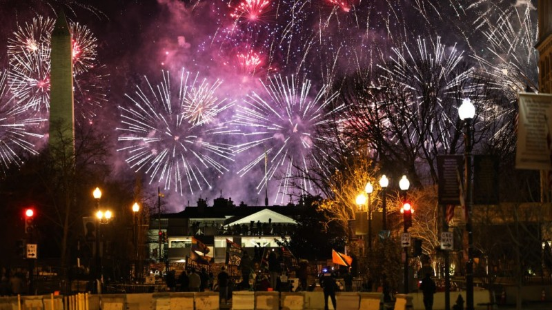 Photos: The Inaugural Fireworks Show You May Have Missed in DC