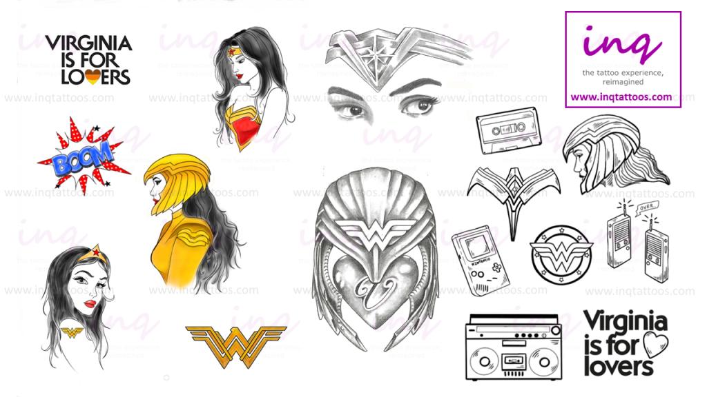 inq Tattoos Wonder Woman 1984