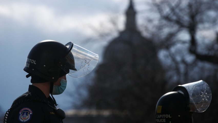 us capitol police helmet and capitol