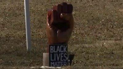 Chainsaw Artist's Black Lives Matter Sculpture Stolen