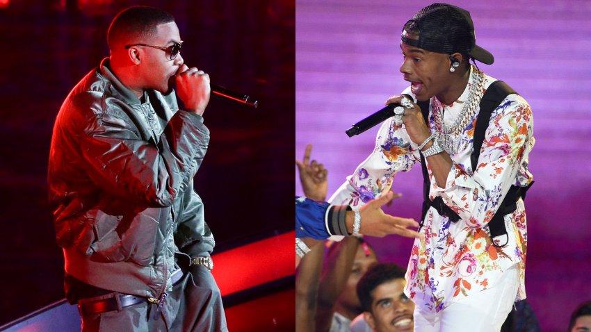 Hip Hop artist Nas