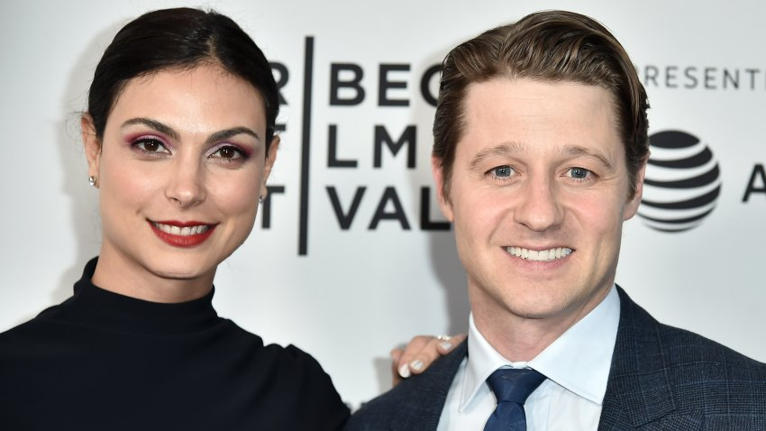 NEW YORK, NY - APRIL 30: Morena Baccarin and Ben Mckenzie attend a screening of Framing John DeLorean during the 2019 Tribeca Film Festival at SVA Theater on April 30, 2019 in New York City.