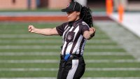 NFL Makes Maia Chaka Its 1st Black Female Official