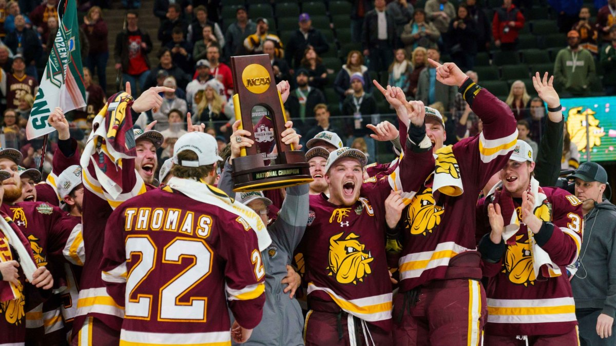 2021 NCAA Frozen Four: Schedule, Time, TV Channel, Live Stream, How to Watch