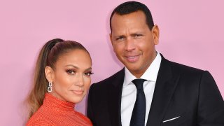 FILE - Jennifer Lopez and Alex Rodriguez arrive for the 2019 CFDA fashion awards at the Brooklyn Museum in New York City on June 3, 2019.